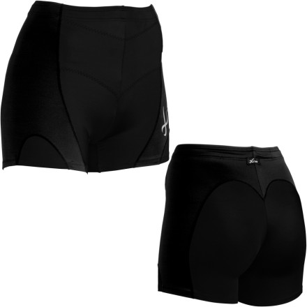 Fitness Lower-back and butt support are two things you can look forward to with the CW-X Women's Pro Fit Shorts. CW-X's Tuned Conditioning Web design stabilizes your pelvis by extending support from the lower back out to the sides of the hips, which means less back and butt fatigue on long training runs. A wicking, breathable, gusseted crotch liner helps cut down on sweat, while the Pro Fit Shorts' UPF 40-rated fabric blocks UVA and B rays. - $59.95