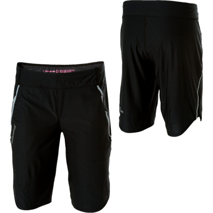 Fitness The durable lightweight Trail Shorts from Houdini are made with Eco-Circle Gaiter Jersey Fabric that is durable and wicks moisture. The Trail Shorts are treated with anti-odor technology to prevent stench when you're pushing it during the hottest months of the year, and the knee length protects your thighs whether you're on multi-pitch climbs or sport routes. - $39.98