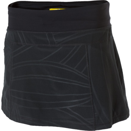 Fitness The Lole Women's Sprint Skort provides a flattering, comfortable, and easy-to-wear option while you scour foreign streets for a tasty chocolate-covered treats to eat. - $32.48