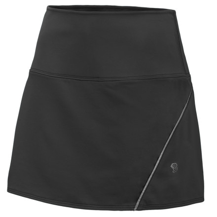 Fitness For those times when you want to train like a pro but sport a look that's second to none, the Mountain Hardwear Women's Mighty Power Skort is your go-to bottom for all your running and athletic needs. - $54.95