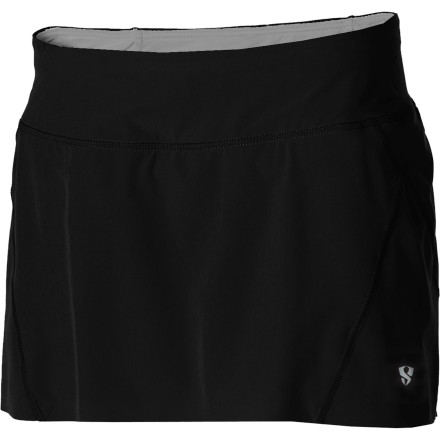 Fitness You've heard that your old college town is now a red-hot running mecca, so instead of shopping for cute cocktail dresses for your reunion weekend, you've picked up the Stoic Women's Thrive Radiant Skort. Not only will you be cool and comfortable on the new trails in the foothills, but you'll be more than presentable in this functional yet feminine skort when you meet up with your ex-roomates after your run for a bite of lunch. - $22.50