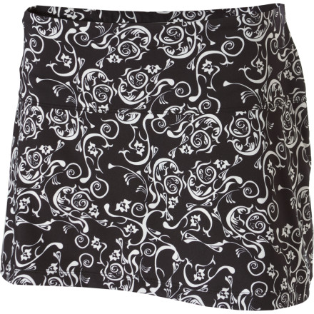Fitness You don't have to be racking up big mileage every week to enjoy wearing the Skirt Sports Marathon Chick Skirt on your daily runs. This performance running bottom features a lightweight mesh skirt over soft, comfortable spankies for cool comfort and confidence-inspiring style. - $41.97