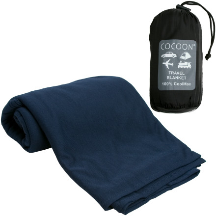 Camp and Hike Keep a soft, comfortable, and clean blanket with you at all times when you pack the Cocoon CoolMax Travel Blanket on the plane, in your hotel room, and at the beach. This 70 x 56-inch blanket keeps you from resorting to that sketchy airline blanket when you need a few hours of rest during your trans-Atlantic flight. - $30.36