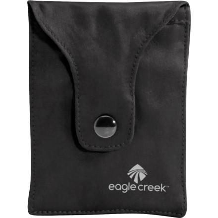 Entertainment Add some class to your bra money-storage habit when you use the Eagle Creek Silk Undercover Bra Stash during your next trip. It can hold your credit cards, cash, and travelers checks where even the boldest of pick-pockets won't be able to reach. - $13.50