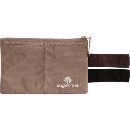 Entertainment Accessorize, organize, and prioritize with the Eagle Creek Undercover Hidden Pocket. Easily slipped onto a belt or tucking into a waistband, this subtle pocket safely stores your essentials in durable and lightweight nylon ripstop fabric. - $13.50