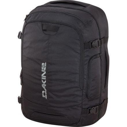 Entertainment Mid-week work trips or weekend excursions are made easier with the DAKINE In Flight 55L Carry-On Bag. - $144.95