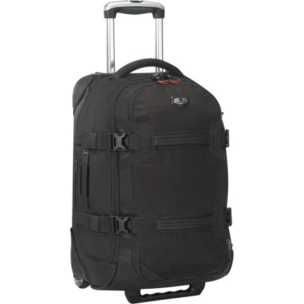 Entertainment Eagle Creek designed the ORV Trunk 22 bag to be as rugged and tough as the adventures you take it on. An ergonomic soft grip handle with adjustable height helps get you through the airport easily enough, but that's just the prelude to a long list of rough and rugged features that will put this bag on your must-have list. - $265.00