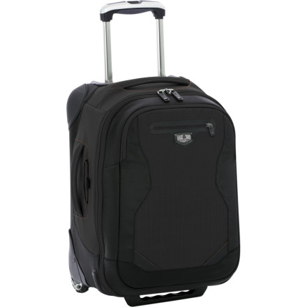 Entertainment Pack everything you need for a weekend getaway or a weeklong business trip into the Eagle Creek Tarmac 22 Carry-On so you can roll through security, down the jetway, and into your seat. With internal compression wings, multiple pockets, durable material, rugged rubber wheels, and corner protectors. - $285.00