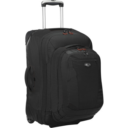 Entertainment The Eagle Creek Traverse Pro 25 Convertible Gear Bag is designed for the airline traveler to be lightweight and versatile. Pull off the detachable daypack and tuck it under your seat for easy access to your laptop, book, and snacks. - $330.00