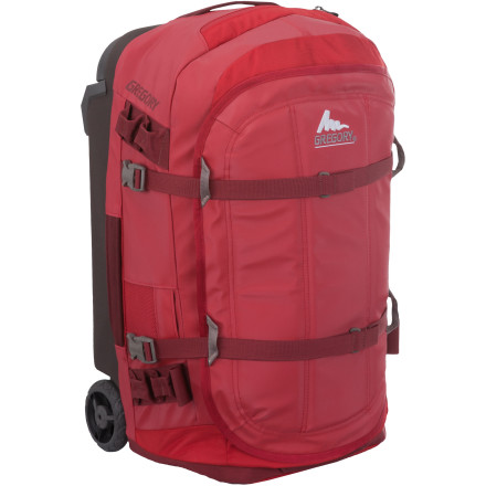 Entertainment Getting to the adventure can be an adventure in and of itself, which is why Gregory built its Alpaca 22 Carry On Bag. Designed to be rugged and strong for the long haul, the Alpaca organizes and hauls up to 55 liters of gear for your next weekend getaway. - $348.95