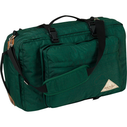 Entertainment The Kelty China Clipper can be carried like a regular tote bag, as a shoulder bag with one strap, or as a backpack when you need both hands free for other things. - $131.21