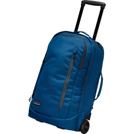 Camp and Hike Stop bringing four bags on your three- to five-day trips. The Patagonia MLC Wheelie Bag is a toiletry bag, laptop sleeve, rolling suitcase, and backpack all in one. By the wayMLC stands for Maximum Legal Carry-On, which means you get as much packing room as possible without having to tap your foot at the baggage carousel. - $249.00