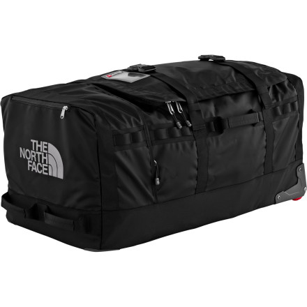 Snowboard When the thunder rolls you'll have to walk faster, but luckily the wheels on The North Face Rolling Thunder Duffel will keep up as you avoid the lightning. - $278.95