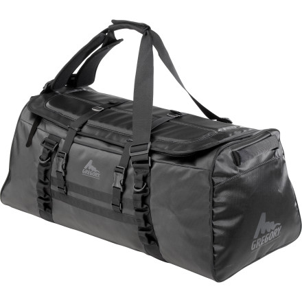 Camp and Hike Take the Gregory Alpaca Duffel with you on your next major expedition. The Alpaca was built with heavy-duty waterproof fabric and durable zippers to haul even the biggest loads in the messiest conditions. - $128.95