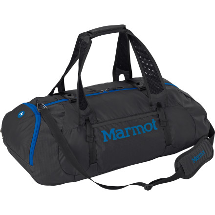 Camp and Hike Whether you're using the Marmot Kompressor Duffle Bag to haul yourself to the gym or to tote enough gear and clothes for weekend trip, this duffel is ready for just about anything. Heavy-duty construction and versatile carrying options help you navigage hectic airports and your bag survive baggage handlers bent on total destruction. - $63.16