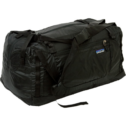 Camp and Hike The Patagonia Lightweight Travel Duffel Bag packs into its own pocket and then fits easily into your luggage so you can load up on gifts for friends and family without having to purchase another bag while you travel. - $69.00