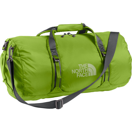 Camp and Hike Grab hold of The North Face Flyweight Duffel Bag and load it up with climbing gear. The light weight of this bag makes it ideal for loading up on climbing gear and food when you fly into a glacier for an extended mountaineering trip. - $59.95