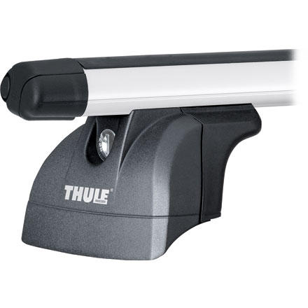 Entertainment Thule created the Podium Foot Packs for newer cars with pre-installed attachment points for load carriers. These Fixpoints allow you to attach your rack without any of the usual hooked-under-the-rain-gutter stuff. Podium Foot Packs come in two options. One works with regular square bars and the other works with Thule Aero Bars (see selections). - $170.96