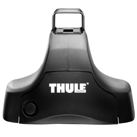 Entertainment Latch on the Thule Traverse Foot Pack and rest assured that the gear attached to your roof will be safe and sounds when you reach your destination. The Traverses simple design and super-secure attachment mechanism make it a solid choice for hassle-free racking. Select your compatible 480 Fit Kit, toss on a box, bike, or boat, and hit the road.MaxClamp Technology provides 25% stronger attachment than other models AcuTight tensioning tool indicates when rack is safely and properly secured Simple design features fewer parts for fast, easy installation Locks to roof with Thule One Key System (sold separately) - $150.95