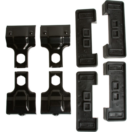 Entertainment The Thule 480 Fit Kit Clips' Set of 4 is a sweet solution for a vehicle that has no factory side rails, no factory racks, or that has a plain rooftop with no rain gutters. These clips are designed specifically for your vehicle and are key for mounting the 480 Traverse Foot Pack or the480 R Rapid Traverse Foot Pack (sold separately). - $66.95