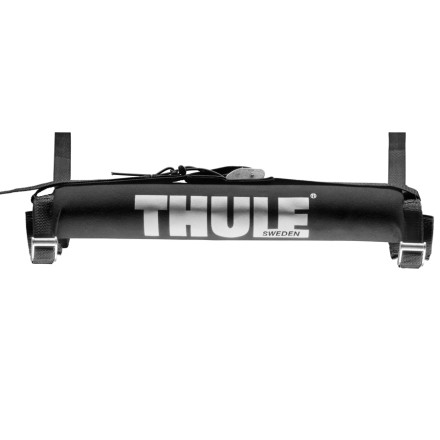 Surf Toss the Thule Tailgate Pad over the 'gate of your short bed truck and get your six-foot (plus!) board down to the water without dinging it into oblivion. A sewn-in strap system slides easily around the bottom of your tailgate so you can secure this pad quickly without messing around for an hour in the garage. UV-resistant fabrics mean that even if you live somewhere that's sunny 366 days of the year, the pad won't fade out and turn brittle.* Board tie-down straps sold separately - $31.46