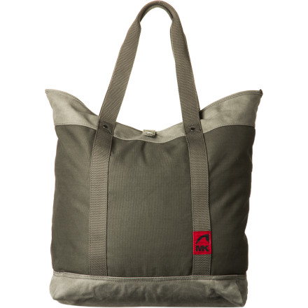 Reusing plastic grocery bags, however noble, doesn't quite compare to hauling around your daily groceries and goods inside the Mountain Khakis Carry All Tote. First off, its durable canvas and leather materials don't break when you carry a dozen jars of pickled veggies home from the market. Secondly, its carefully crafted canvas design looks great. - $74.95