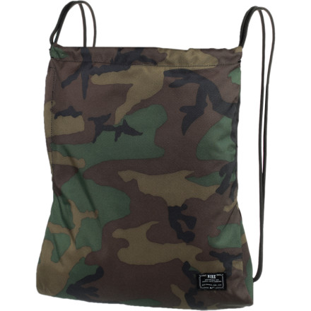 Skateboard Bring your extra gear to the beach, mountain, or countryside in the Nike Women's Action Gymsack. This packable carrier will be your best friend when having a day's worth of gear on your person is crucial. - $11.67