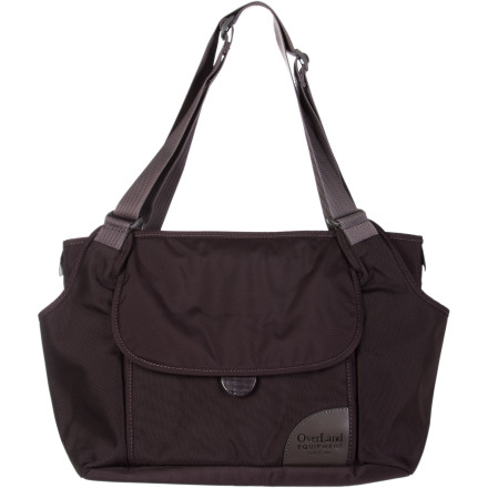 Sports Whether you're zipping around the city with your kids, traveling solo via the train, or catching a baseball game with your friends, the Overland Equipment Sierra Tote holds everything you need to navigate your day. - $84.95