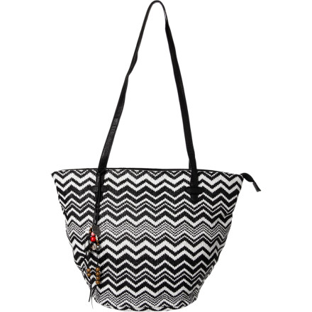 Surf Out to lunch, out on the town, on a park or beach outing, the Roxy Women's Out To Sea Tote looks great, feels free and breezy, and has go-anywhere versatility. Its ample size holds extra layers, lunch, or a compact canine companion. How's that for style' - $40.80