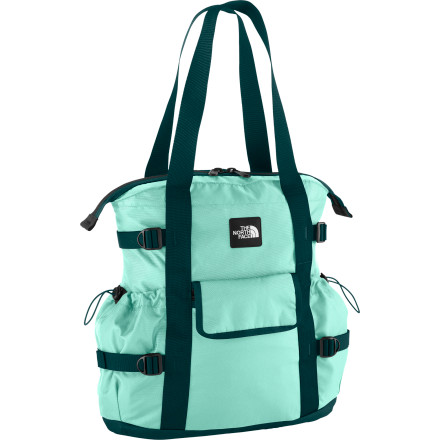 Sometimes, a day in the life of you can feel feel like a life-threatening expedition. Dodging traffic, hauling butt across campus, or just surviving eight hours trapped in a cubicle can all take its toll. Be ready for work-week adventure with the burly tech of The North Face Midtown Tote. - $51.32
