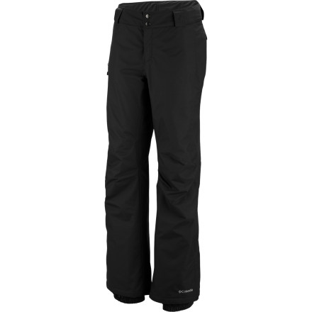 Ski The Columbia Women's Bugaboo Pant keeps you dry when light, fluffy flakes start to fall on the slopes, and the smooth lining makes it easy to layer the Bugaboo over your baselayers when the mercury drops mid-winter. - $66.47