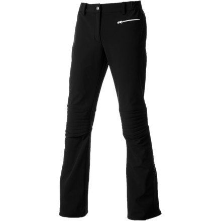 Ski No one wants a pant that hinders movement, droops and sags, or gives as much weather protection as a sponge; hence the stretchy, flatteringly feminine, warm, and weather-repellent Helly Hansen Women's Eclipse Pant. Get low, high, or jiggy in this stylie softshell pant, and feel the liberation of body and soul. - $249.95