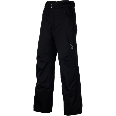 Ski In the middle of winter you can always use a little insulation to keep you comfortable on the mountain. The Mountain Hardwear Women's Returnia Insulated Pant utilizes Thermic Micro synthetic insulation to make unbearable temperatures fun. - $113.72