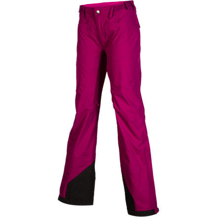 Ski Stand up to the wind whipping off the ridge and the wet, heavy snow pounding down from the sky while you're wearing the Stoic Womens Bombshell Ski Pant. Shaped for the fairer gender specifically, these pants match the contours of your body and give you room underneath to layer up as needed. Three-layer Bombshell fabric has a flexible, mechanical stretch and breathes easily while you work up a sweat during long tours. These pants are tough enough for season after season of abuse at the resort, so put 'em through the paces and enjoy the storm. - $153.30