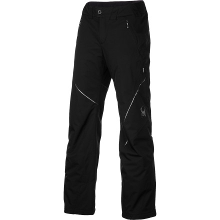 Ski Your days in frumpy ski pants are gone when you put on the Spyder Women's Thrill Athletic Fit Pant. Designed to fit your curves, provide unrestricted movement, and an athletic fit, the Thrill provides the comfort, weather protection, and insulation you've been looking for in a quality ski pant. - $174.97