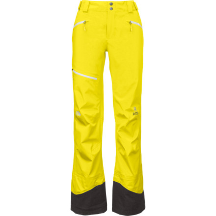 Ski When you see a line you want to ski, nothing is going to hold you back, especially not your North Face Free Thinker Women's Ski Pant. Three-layer Gore-Tex keeps you dry in the harshest conditions so you can get after it no matter what the weather brings, and the Chimney Venting system keeps you cool when you're pushing towards the summit so you don't burn out before the top. - $226.82