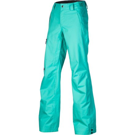 Ski The North Face Women's Cymbiant Pants bring together great design and hardcore winter tech to keep you looking great and feeling dry and cozy. Get your legs into these weather-stopping pants when you want to venture into the backcountry or hit the resort when fresh snow is coming down hard. - $209.27