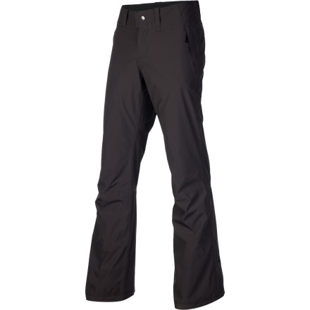 Ski Tear the mountain a new one when you step out into the cold winter air with The North Face Women's Sally Pant. Designed to provide quality performance while you slash turns down steep slopes or untracked terrain, the Sally keeps comfy with its Chimney venting system, Heatseeker insulation, and waterproof breathable HyVent insulation. - $83.97
