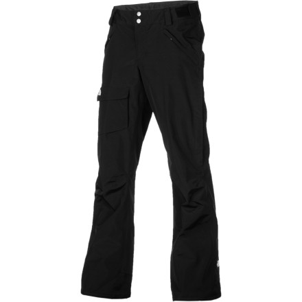 Ski Because staying cool and dry in the winter weather is just as important as staying warm, you wear The North Face Women's Freedom LRBC Pant with its snow-proof, breathable shell and effective venting system. Hiking up a ridge or skinning all morning can create a lot of heat in your legs, but this pant's Chimney Venting system uses angled vents and outer thigh vents to keep the fresh air moving. - $97.97