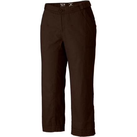 The Mountain Hardwear Women's Sandhills Capri keep your legs happy, and it keeps the planet happy. - $34.98