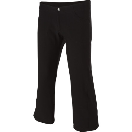 When you wear the Patagonia Women's All-Out Capris, you get a relaxed, casual look and high-performance technical features that keep you feeling good whether you wear the All-Outs around town or bouldering in the desert. - $49.00