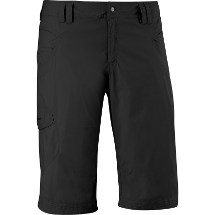Camp and Hike The comfortable mobility of a short with the protective coverage of a pant, the Salomon Elena Capri Pant melds the best of both worlds. With 50 UV sun protection and durability, it's no ordinary clam-digger; plus, it's fast-drying and packable, so it can hit the road when you do. - $32.98