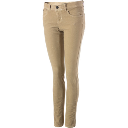 Surf The Billabong Women's Cord Pixie Pants are a great starting point for getting ready for your first day of work or a first day of school. These pants help create a look that is neat and polished while still being casual and comfy. - $25.58