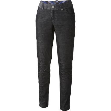 Slide your legs into the Columbia Women's Original Avenue Skinny Cord Pants and get the teeny-tiny skinny look you want without the strapped-in feel. Flexible fabric and a mid rise balance the skinny look with a more forgiving feel. - $34.98