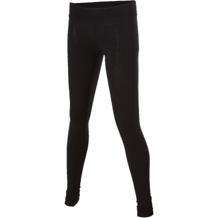 The EMU Umina Leggings are not your typical leggings. Fine merino wool adds a rich, finished look that you can only get from one of the softest fabrics created by nature. That soft merino wool also insulates you from cold breezes and then helps your body naturally cool you down when your sitting inside by the fire. Wear these when you want the slimming, sexy look of leggings but you aren't willing to sacrifice on class. - $48.37