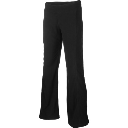 After a long cold day on the slopes, a hard workout at the gym, or even just an afternoon in your skinniest jeans, what could be better than slipping into the ultra-comfy ExOfficio Women's Jandiggity Fleece Pant' Soft, warm, and lightweight, it never fails to elicit a contented 'Ahhh' when you pull it on. - $32.47