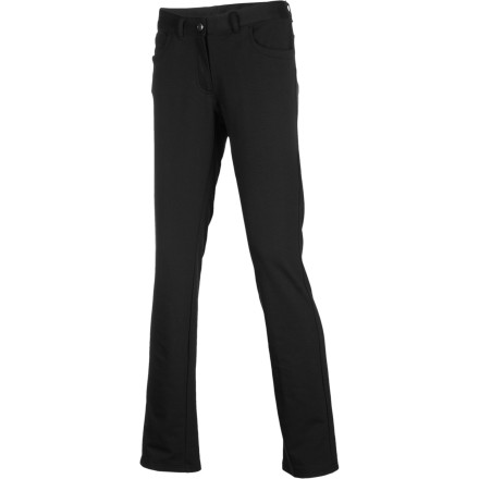 Make your way through the hustle and bustle of Cairo's spice market when you wear the ExOfficio Women's Go-There Jean. Its slim fit and Dri-Release fabric provide a flattering look and comfortable fit while you barter with the locals. - $49.47