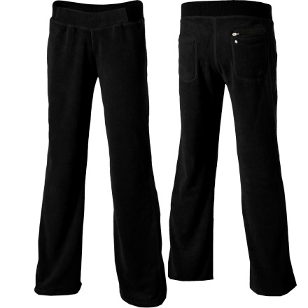 Fitness The Horny Toad Womens Morningafter Pant gives your body some love after yesterdays marathon, triathlon, or whateverathon. Plush fleece fabric coerces your legs to move from the bed to the couch, so you can veg out until the sun goes down (but knowing you, it might just be an hour). - $52.77