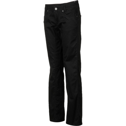 The KUHL Daggr Pants are ready for a morning of sightseeing, lunch at the coffee shop, dinner downtown, and a movie on the couch. The super-soft fabric means you won't feel like changing until it's bedtime. - $48.72
