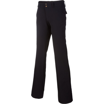 The Lole Women's Travel Pant keeps you looking all put-together, even after hours of sitting on a plane or in a car. Its butter-smooth fabric allows you to move freely while you browse the produce at the outdoor market, while the Travel's moisture-wicking and anti-wrinkle properties ensure you look fresh, regardless of how long your flight or drive was. - $55.22